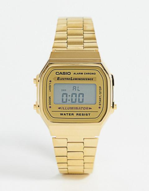 Reloj Digital Chapado En Oro A168wg-9ef De Casio-dorado de ASOS en 21 Buttons