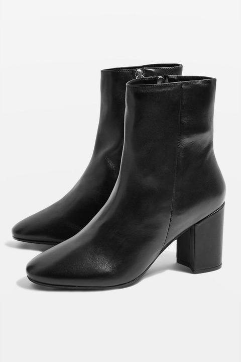 Elise Leather Boots de Topshop en 21 Buttons
