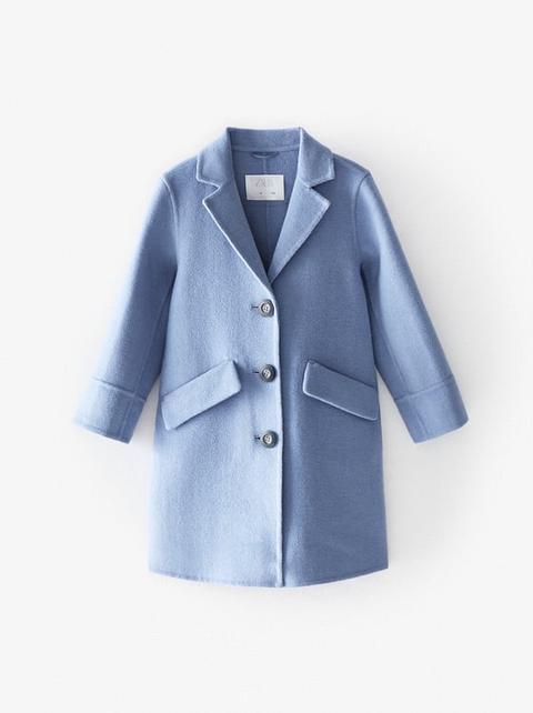 Abrigo De Lana de Zara en 21 Buttons