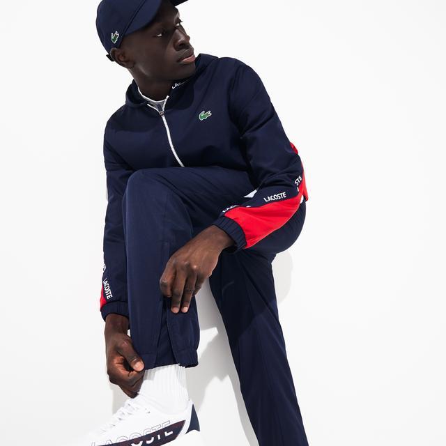 Pantalon De Survetement Lacoste Sport Color Block Avec Bandes Signature From Lacoste On 21 Buttons
