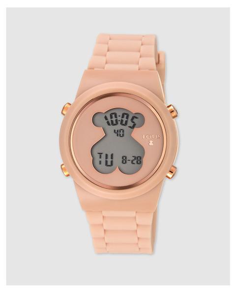 Tous - Reloj De Mujer D-bear Digital De Silicona En Tono Nude de El Corte Ingles en 21 Buttons
