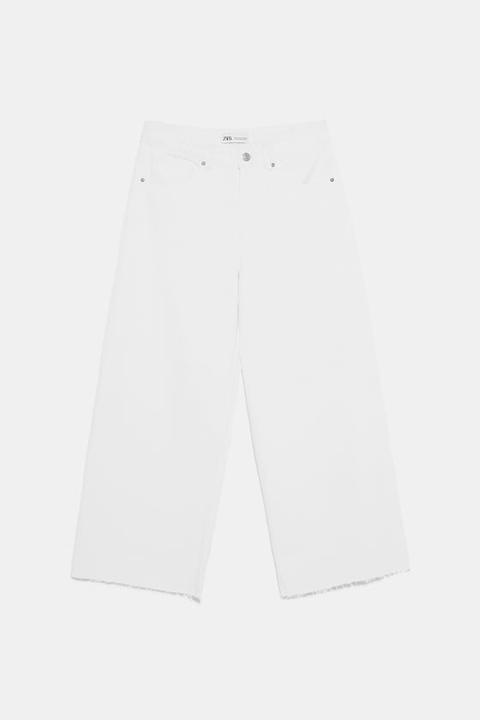 Jeans Culotte Mid-rise