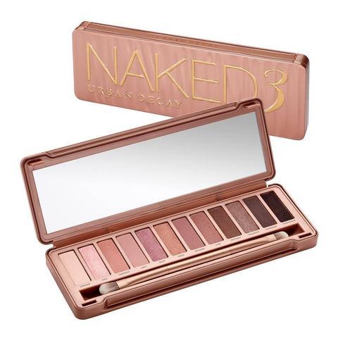 Naked 3 Paleta De Maquillaje de Urban Decay en 21 Buttons