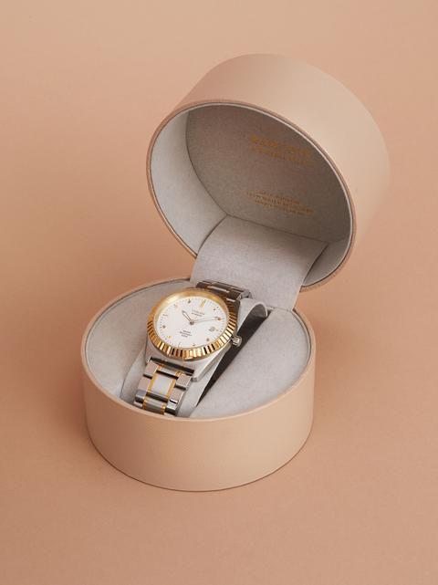 Reloj De Acero Inoxidable Special Edition de Parfois en 21 Buttons