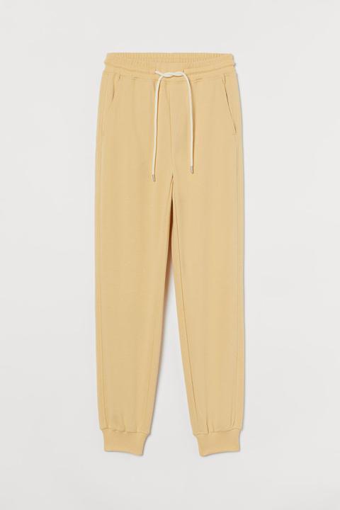 Pantalon Jogger - Jaune