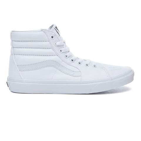 Vans Zapatillas Sk8-hi (true White) Mujer Blanco de Vans en 21 Buttons