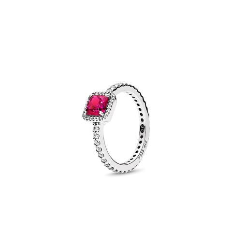 Anillo En Plata De Ley Elegancia Atemporal Rojo de Pandora en 21 Buttons