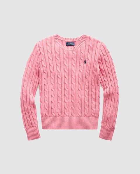 Polo Ralph Lauren - Jersey De Niña En Rosa Con Ochos de El Corte Ingles en 21 Buttons