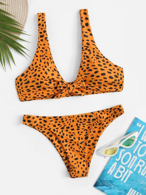 Bustier Bikini Set Mit Blumen Muster Girls 15