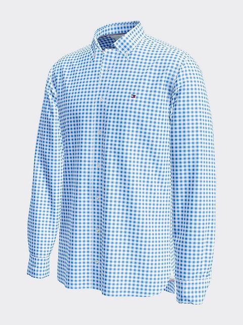 Camisa Con Estampado De Cuadros Vichy de Tommy Hilfiger en 21 Buttons