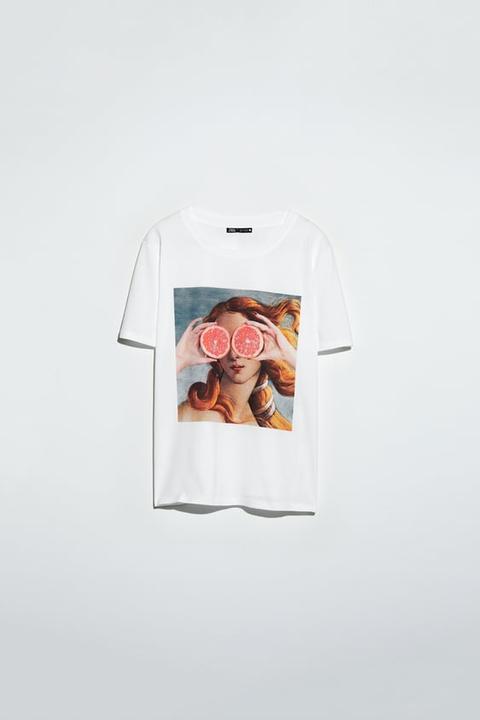 T-shirt With Birth Of Venus © Sandro Botticelli