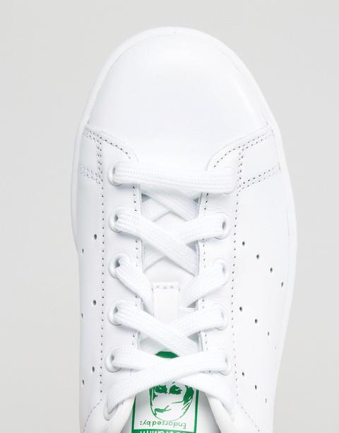 Adidas Originals - Stan Smith - Sneakers Bianche E Verdi - Bianco