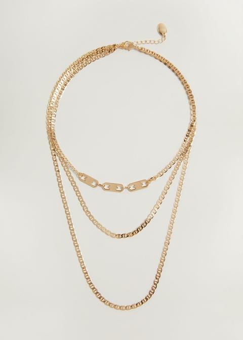 Collar Triple Colgantes