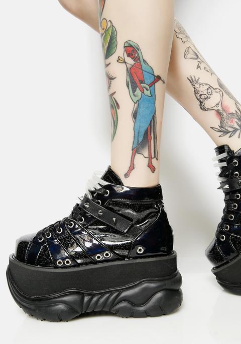 Machina Uv Reactive Platform Sneakers