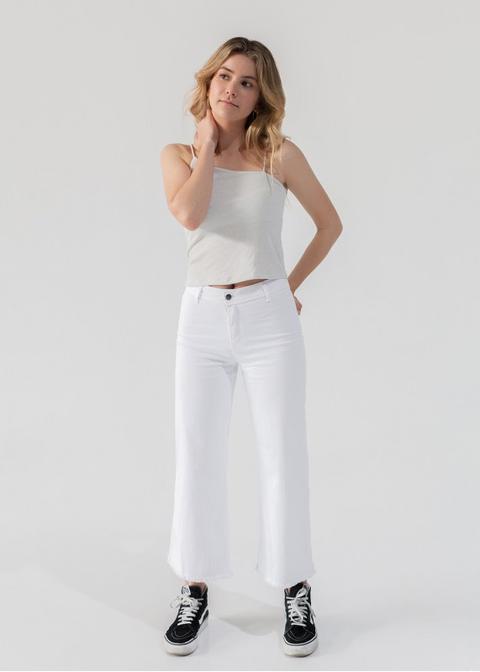 Jeans Culotte High Rise