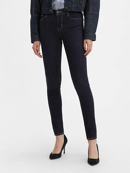 710™ Innovation Super Skinny Jeans Negro / Celestial Rinse de Levi's en 21 Buttons