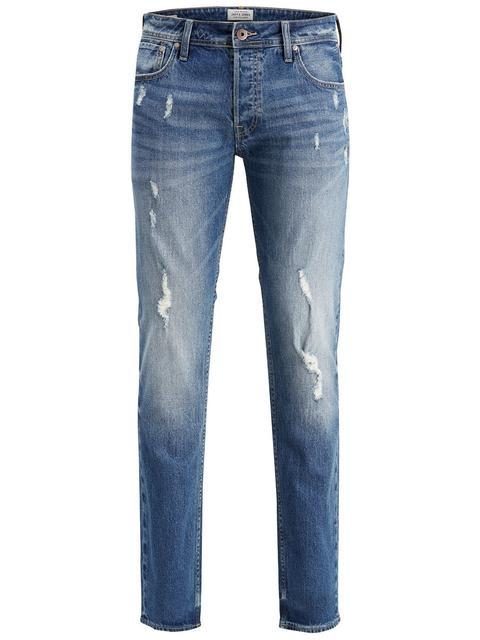 super popular 0a40d 8a5db Tim Original Cr 004 Slim Fit Jeans Herren Blau from Jack & Jones on 21  Buttons