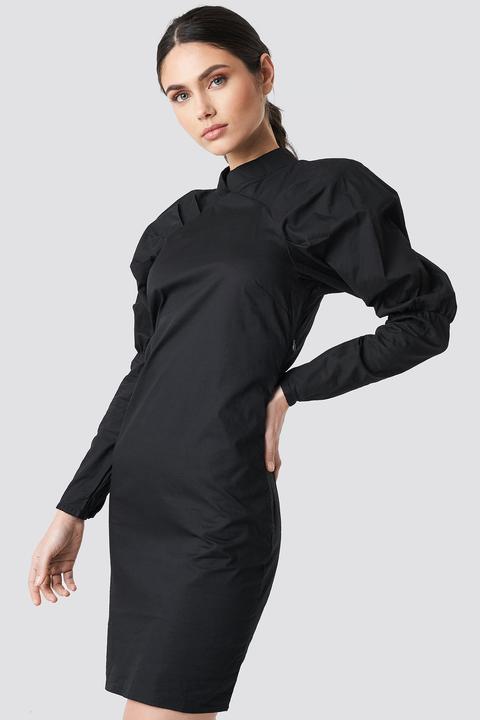 Big Puff Sleeve Dress