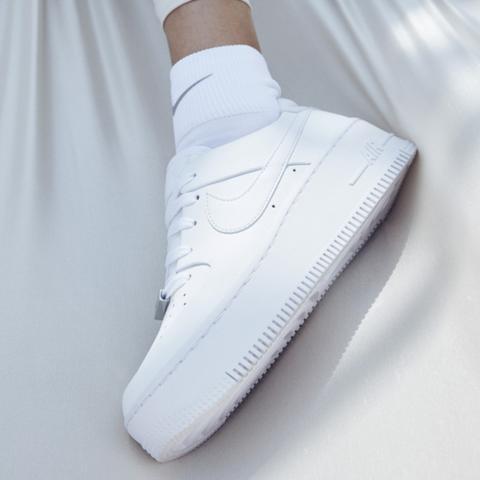 Nike Air Force 1 Sage Low Zapatillas - Mujer - Blanco