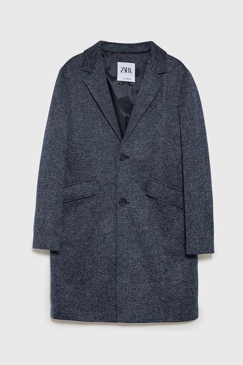 Abrigo Estructura de Zara en 21 Buttons