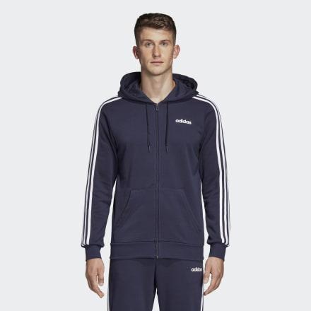 Chaqueta Con Capucha Essentials 3 Bandas de Adidas en 21 Buttons