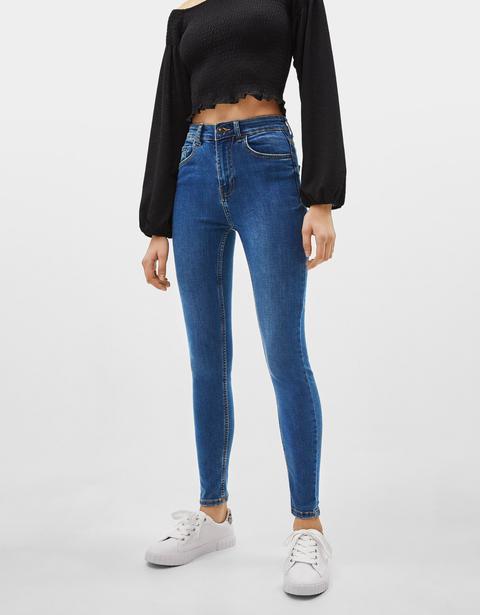 Jeans Skinny High Waist