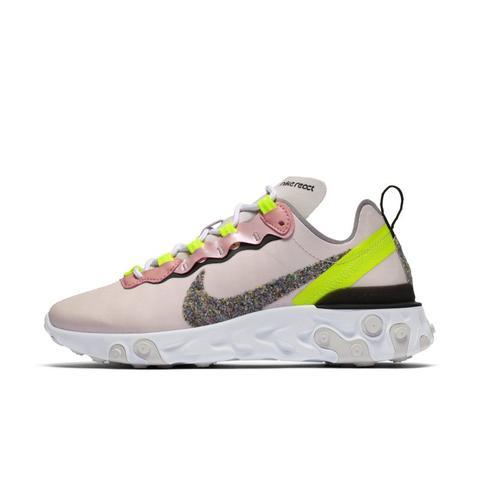 Nike React Element 55 Premium Zapatillas - Mujer - Rosa de Nike en 21 Buttons