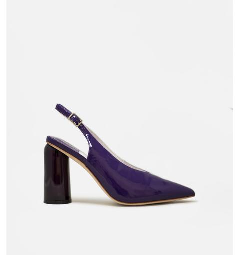 Trix Purple Patent By Jeffrey Campbell de Au revoir Cinderella en 21 Buttons
