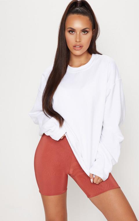 White Ultimate Oversized Sweater
