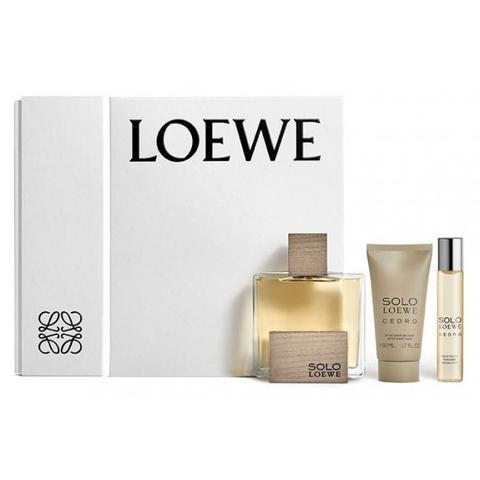 Solo Loewe Cedro Estuche