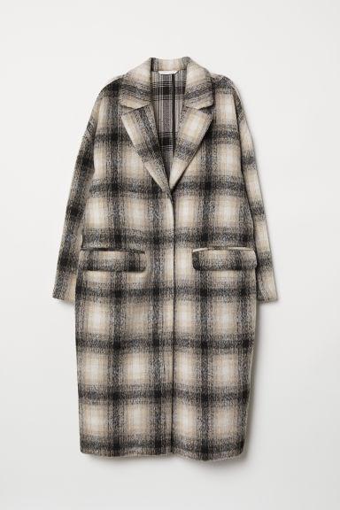 Abrigo Hasta La Rodilla - Beis de H&M en 21 Buttons
