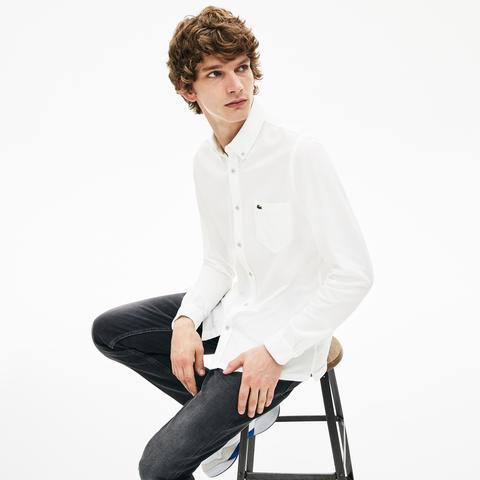 Camisa Hombre Algodón Slim Fit de Lacoste en 21 Buttons