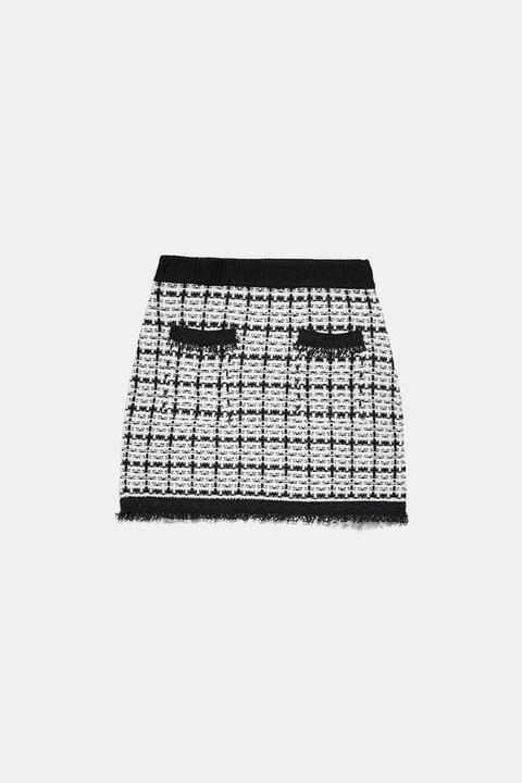 Falda Mini Tweed