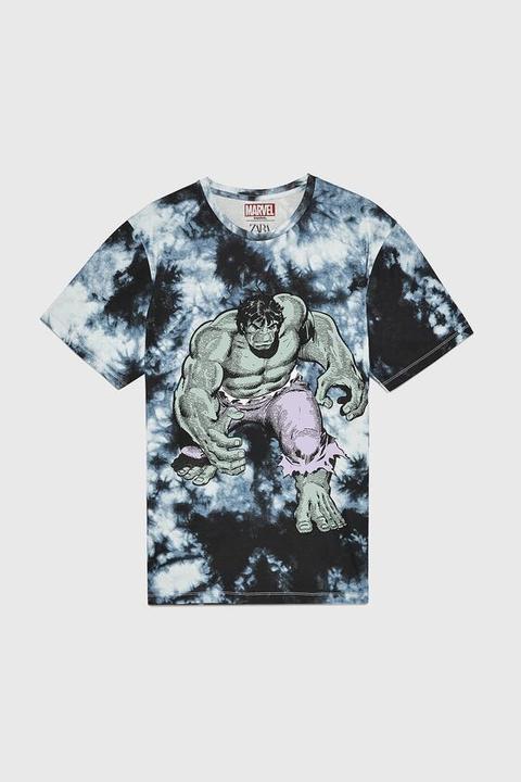 Camiseta Tie Dye Hulk © Marvel