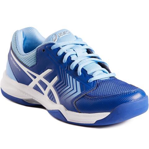 Hormiga salario Tecnología  Zapatillas De Tenis Mujer Moqueta Asics Gel Dedicate Azul from Decathlon on  21 Buttons
