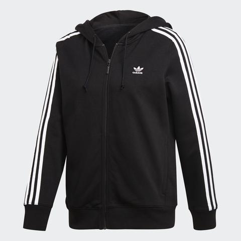 Chaqueta Con Capucha Zip 3 Bandas de Adidas en 21 Buttons