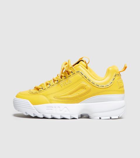 Fila Disruptor Ii Women's, Yellow from
