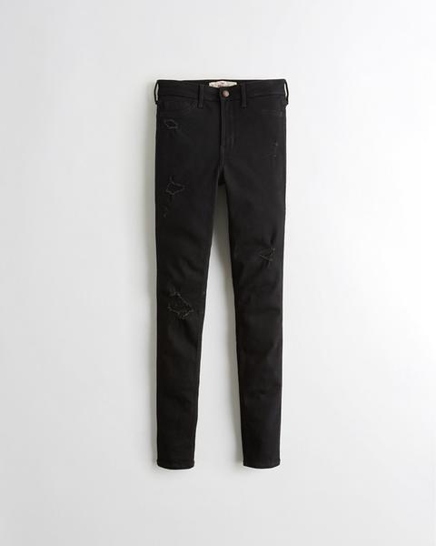 Classic Stretch High-rise Super Skinny Jeans de Hollister en 21 Buttons