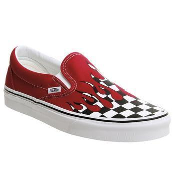 Vans Classic Slip On Racing Red