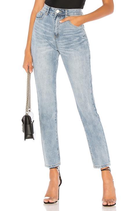 Laura Boyfriend Denim Jeans from Revolve on 21 Buttons