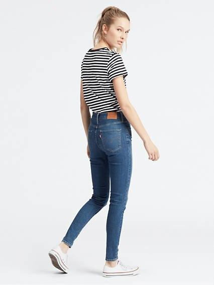 720™ High Waisted Super Skinny Jeans Azul / Love Ride