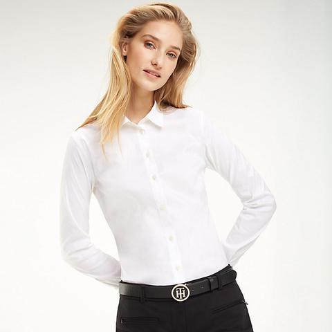 Camisa Heritage De Corte Slim de Tommy Hilfiger en 21 Buttons