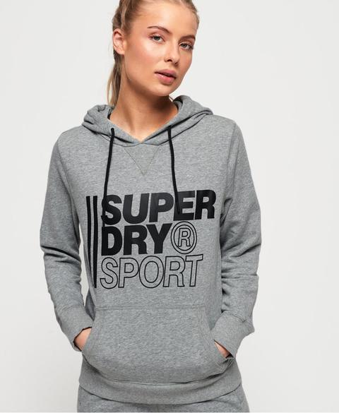 Sudadera Con Capucha Sin Cierre Core Sport de Superdry en 21 Buttons