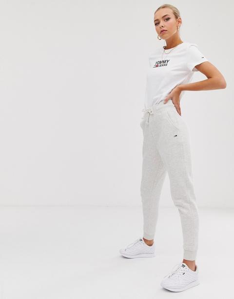 Pantalones De Chándal Clásicos En Algodón Orgánico De Tommy Jeans de ASOS en 21 Buttons