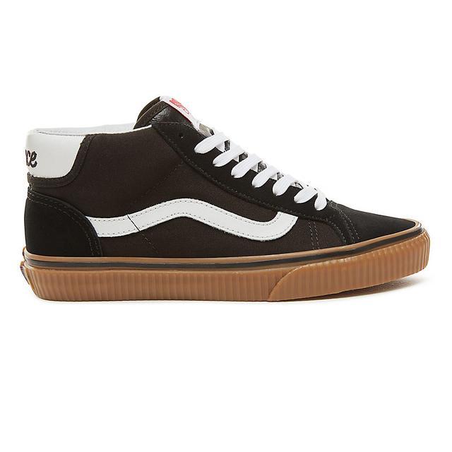 Vans Chaussures En Daim Power Pack Mid Skool 37 ((power Pack) Black/gum)  Homme Noir from Vans on 21 Buttons