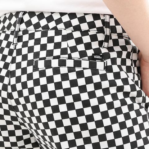 Vans Checkerboard Authentic Wide Leg