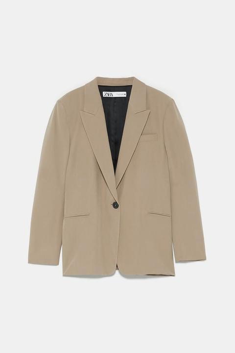 Blazer Mit Knopf from Zara on 21 Buttons