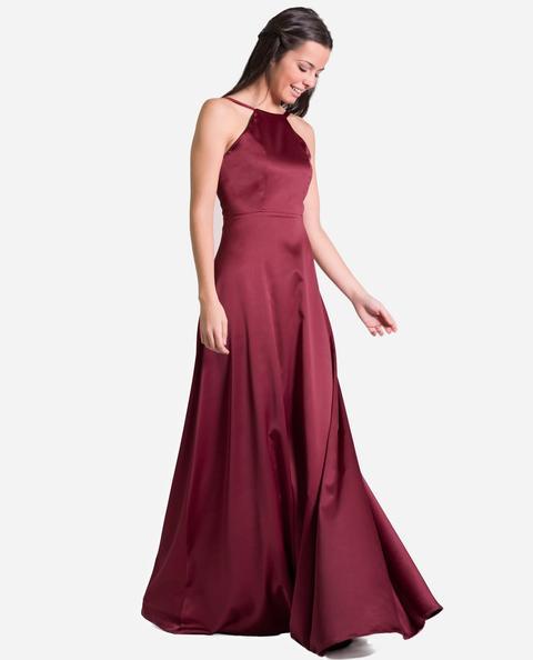Vestido Odette · Burdeos de THE-ARE en 21 Buttons