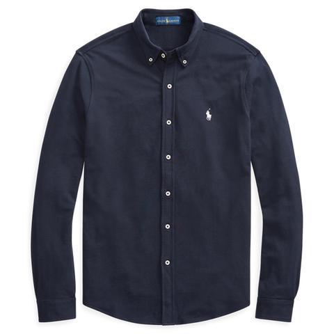 Camisa De Piqué Ultraligera de Ralph Lauren en 21 Buttons