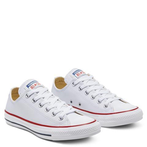 Converse Chuck Taylor All Star En Piel White